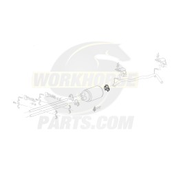 15529483  -  Clamp Asm - Tail Pipe