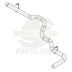 15986349  -  Pipe - Exhaust Tail
