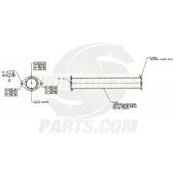 W0000128  -  Exhaust Asm-20 Inch Adap
