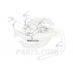 W0003730  -  Pipe Asm - Exhaust, Crossover