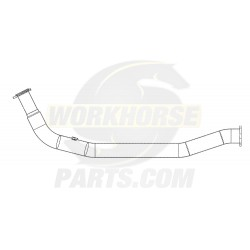 W0007577  -  Downpipe Asm - Exhaust, RH