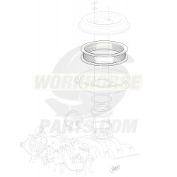 08996093  -  Filter - Air Cleaner (Element - 6.5L Diesel)