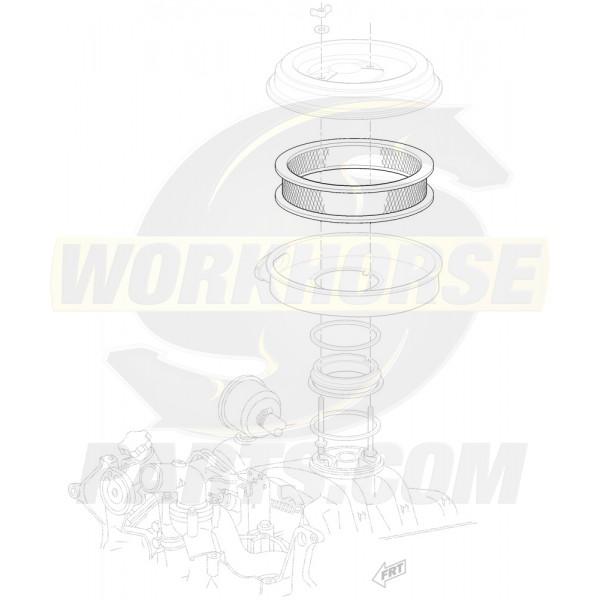 08996093  -  Filter - Air Cleaner (Element - 6.5L Diesel)