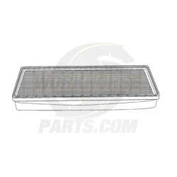 W8800481 - Air Filter For Workhorse RV W/ 8.1L or 7.4L Engine P32 & W-series