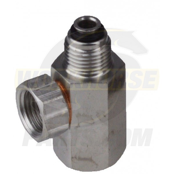 WH006889 - 2004+ Workhorse Fuel Filter Adapter (3 Port)