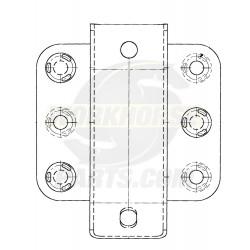 15597851  -  Bracket Asm - Front Bumper Impact Bar, LH