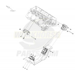 15597947  -  Crossmember - Engine Mounting Front
