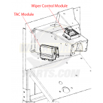 12588924 - Module - Throttle Actuator Control (TAC Module)