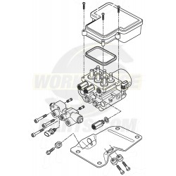 W8000548  -  NEW ABS Control Unit - ABS, Combo Valve (With Bracket)