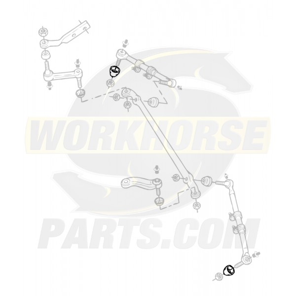 00328144  -  Seal - Steering Linkage Outer Tie Rod End
