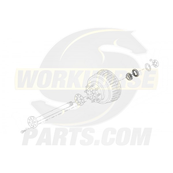 09428908  -  Bearing Asm - Rear Wheel Outer (Disc/Drum)