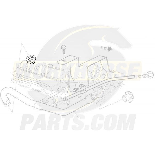 10108402 - 5.7L Engine Oil Fill Tube Valve Cover Grommet