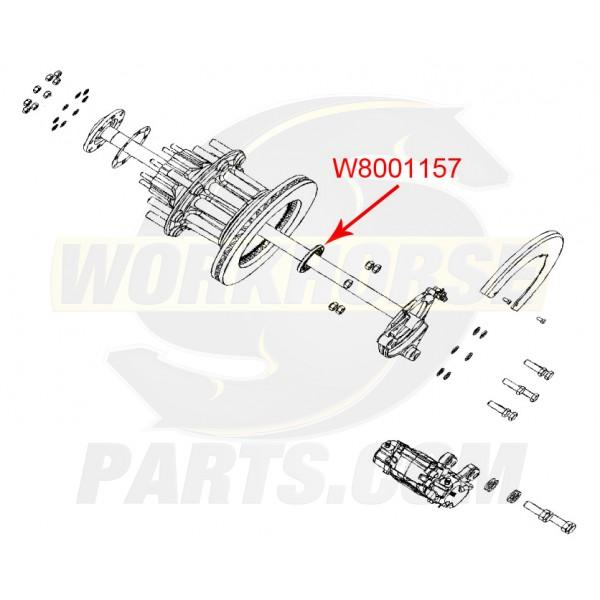 W8001157 - Rear Wheel Inner Bearing Seal