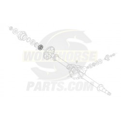 W8810206  -  Oil Seal - Rear Wheel (Disc/Drum)