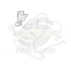 12554522  -  Bracket Assembly - Power Steering Pump