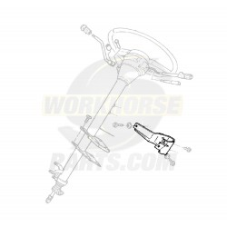 15961237  -  Bracket Asm - Steering Column Support