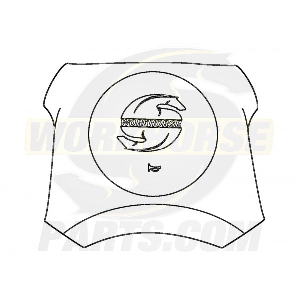 16868007  -  Molded Pad Horn Asm