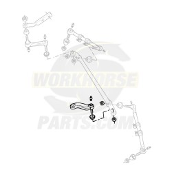26059502  -  Pitman Arm Kit w/ Fasteners (Independent Suspension)