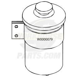 W0000079  -  Reservoir Asm - Power Steering Fluid (2.0L Capacity)