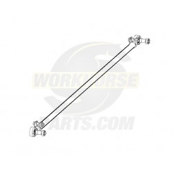 W8007299  -  Tie Rod - Asm 1.31 Tube