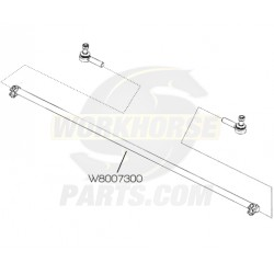 W8007300  -  Asm - Steering Tie Rod (Ends & Tube)
