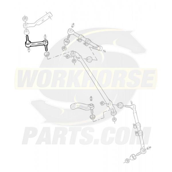 W8803017  -  Steering Linkage Idler Arm (Independent Suspension)