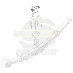03700034  -  Bumper - Rear Axle (Rubber)