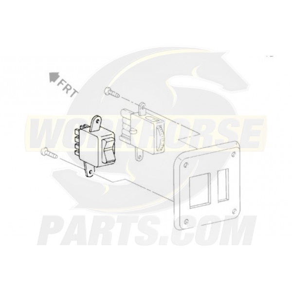 01995406  -  Switch Asm - Headlamp