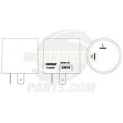 W0004660  -  Flasher Asm - Hazard Lamp