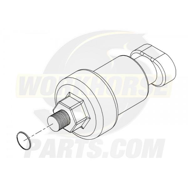 W8001071  -  Switch - Actuator Pressure (Park Brake)
