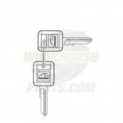 W8001328  -  Service Key Fits W0008795 (w/ Workhorse Emblem)