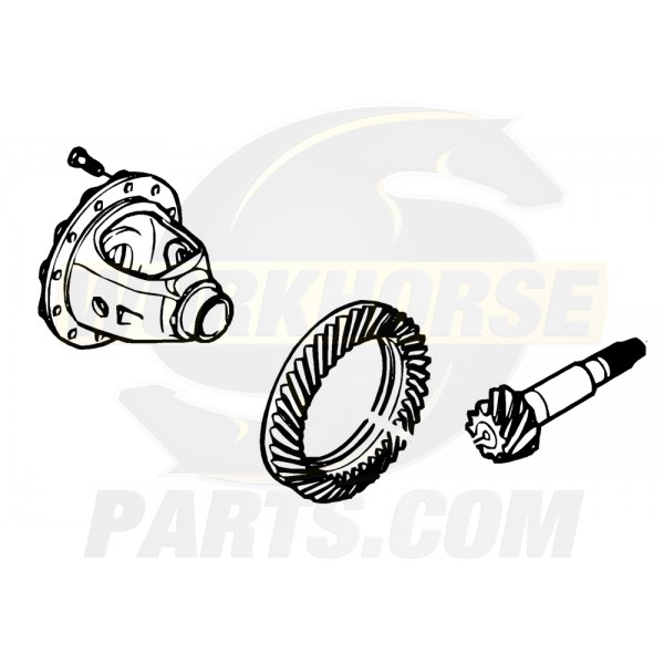12387297  -  Kit - Differential Ring & Drive Pinion (5.13 Ratio) (With Ring Bolts)
