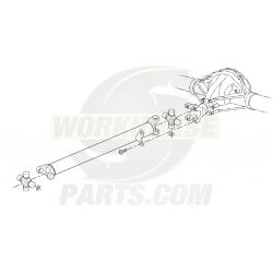 15713333  -  Propshaft Asm - Rear (1461.1mm)