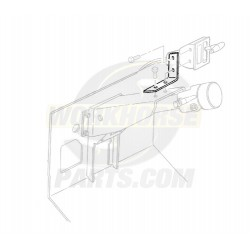 15980603  -  Bracket - Automatic Transmission Shift Control