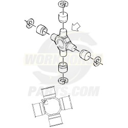 88964413  -  Propshaft Universal Joint Kit