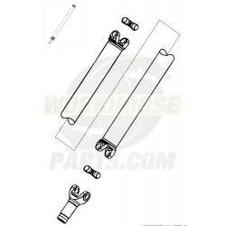 "W0001903  -  Shaft Asm - Prop Rear (1278mm) (Dana 1480) (178"" Wheelbase)"