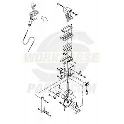 """W0010644  -  Remote Shift Asm - M74 (105"""" Cable)"""