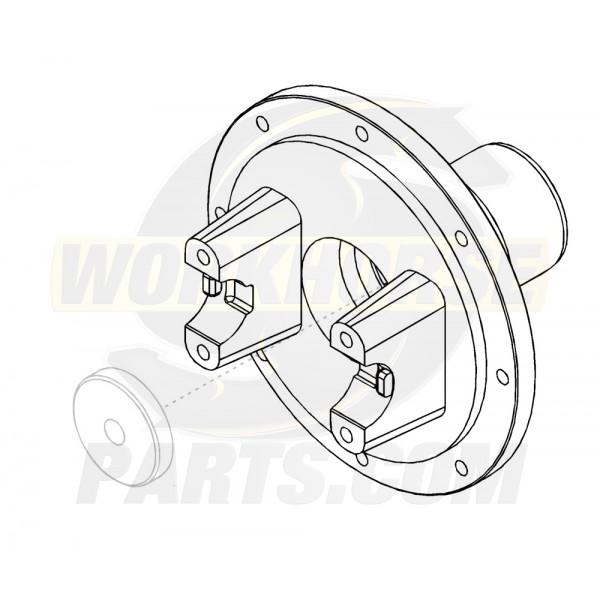 W8000670  -  Yoke - Front Propshaft Brake